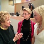 UN Ambassador Diane Dane Callister wearing Stevie Mac with Elizabeth Dole